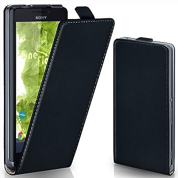 MoEx® Funda abatible + Cierre magnético Compatible con Sony Xperia ...