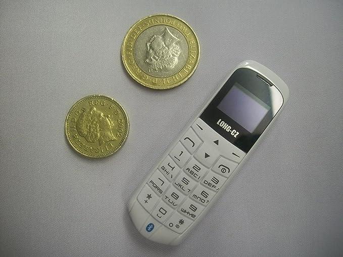 6 opinioni per LONG-CZ J8 bianco, il mini cellulare 3 in 1 più piccolo e sottile al mondo,