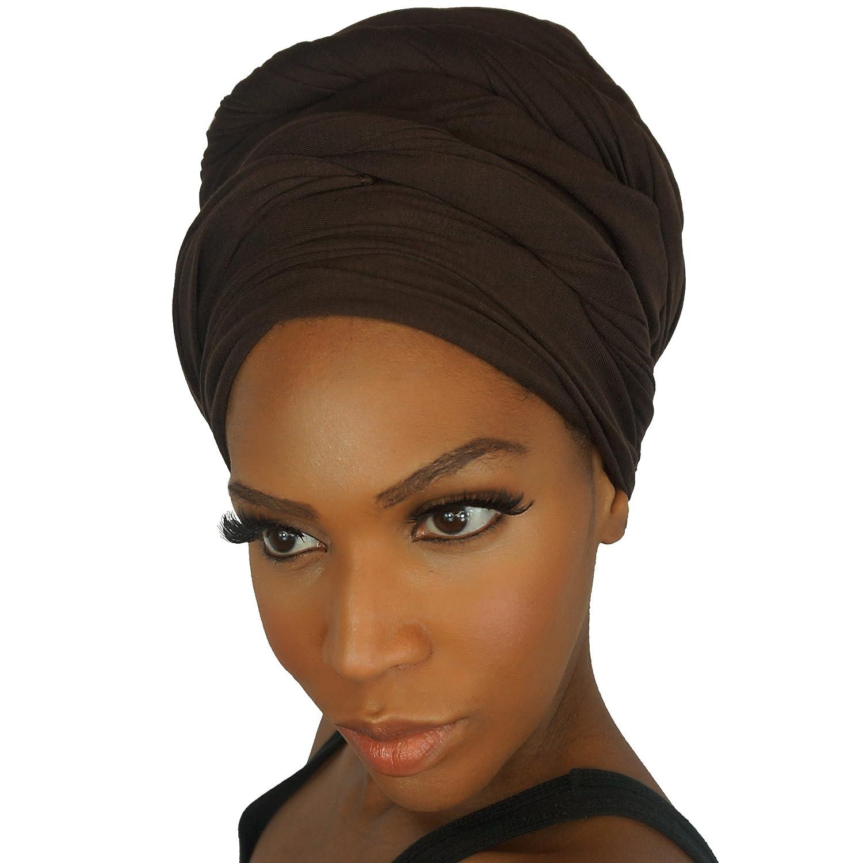 The Urban Turbanista Headwraps /& Turbans Elasticizzato Jersey Knit Testa Wraps 18 colori