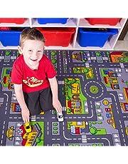 Children's Kids Multi Play Mat Rug
