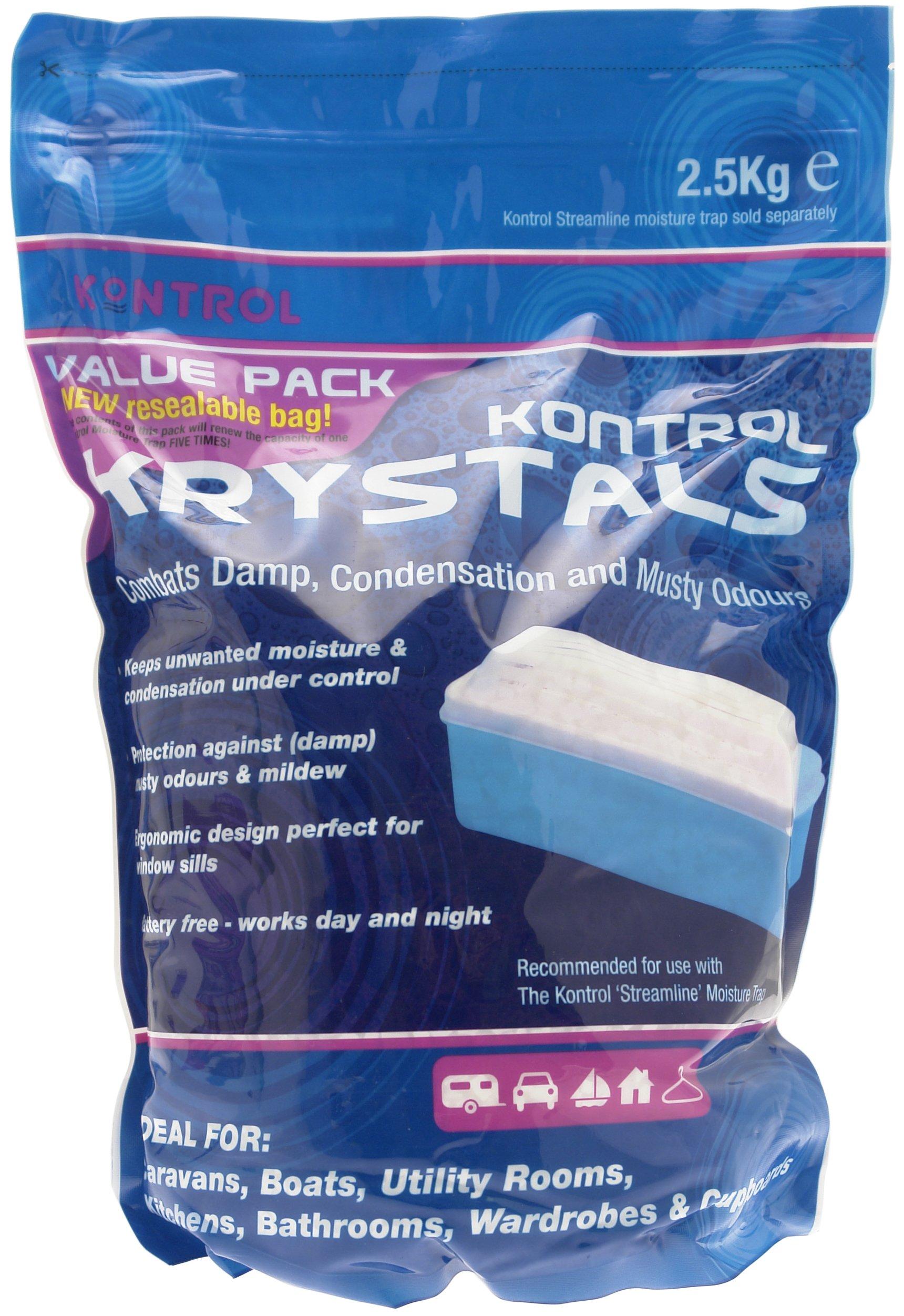 Kontrol Refill For Moisture Absorber 500g Dehumidifier Damp Crystals caravan