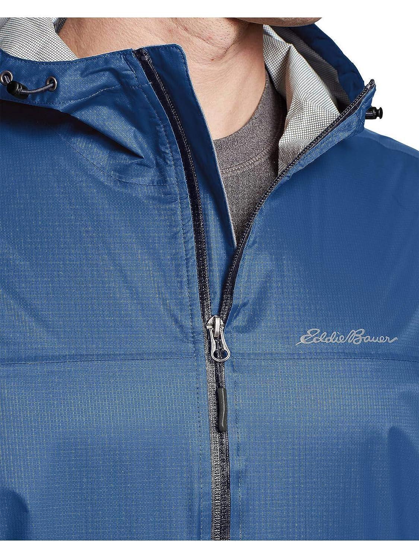 Eddie Bauer Mens Cloud Cap Lightweight Rain Jacket Tall