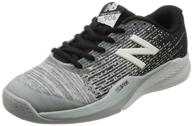 [ニューバランス] テニスシューズ MC906(旧モデル) メンズ B06ZZQ7JWH 26.5 4E グレー/ブラック