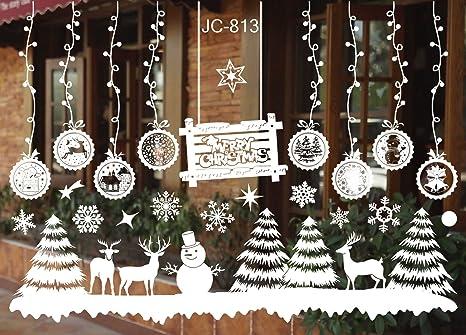 Christmas Snow Flake Removable Art .Vinyl Window Door DIY Sticker Wall DecoXNCA