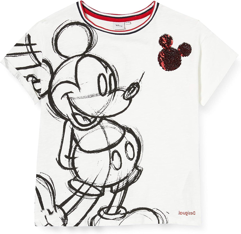 Desigual TS/_Mickey T-Shirt Bambina