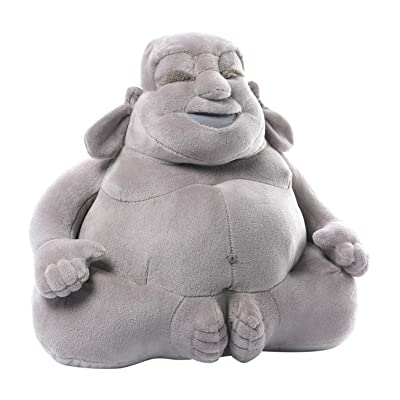 GUND Huggy Buddha Gray Plush, 11 inches: Toys & Games