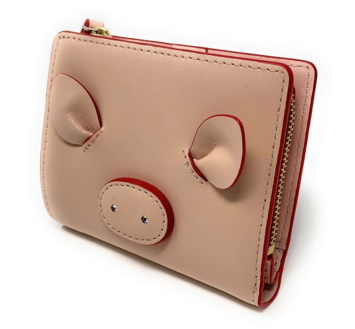 69cb4eaf87e Kate Spade Year of the Pig Small Shawn Warm Vellum Wallet