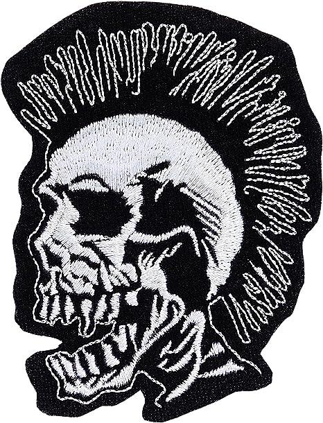 Herbivore Metal Patches Punk Patches Punk Jacket 13.5x7.5cm Punk Patch