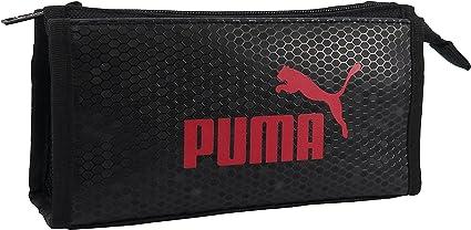 Puma 967PMRD - Estuche para bolígrafos, diseño de panal, color rojo: Amazon.es: Oficina y papelería