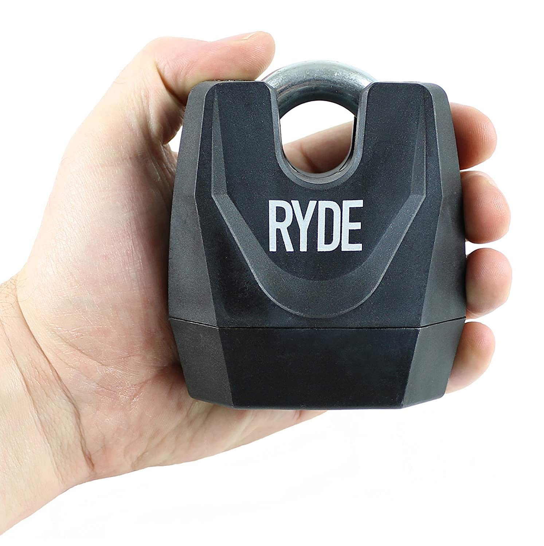 Ryde Heavy Duty Closed Shackle Padlock