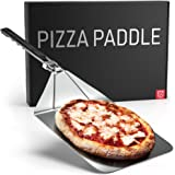 Stainless Steel Folding Pizza Peel - For Professional, Pizzeria-Standard Results at Home - Kensington London Space-Saving, Er
