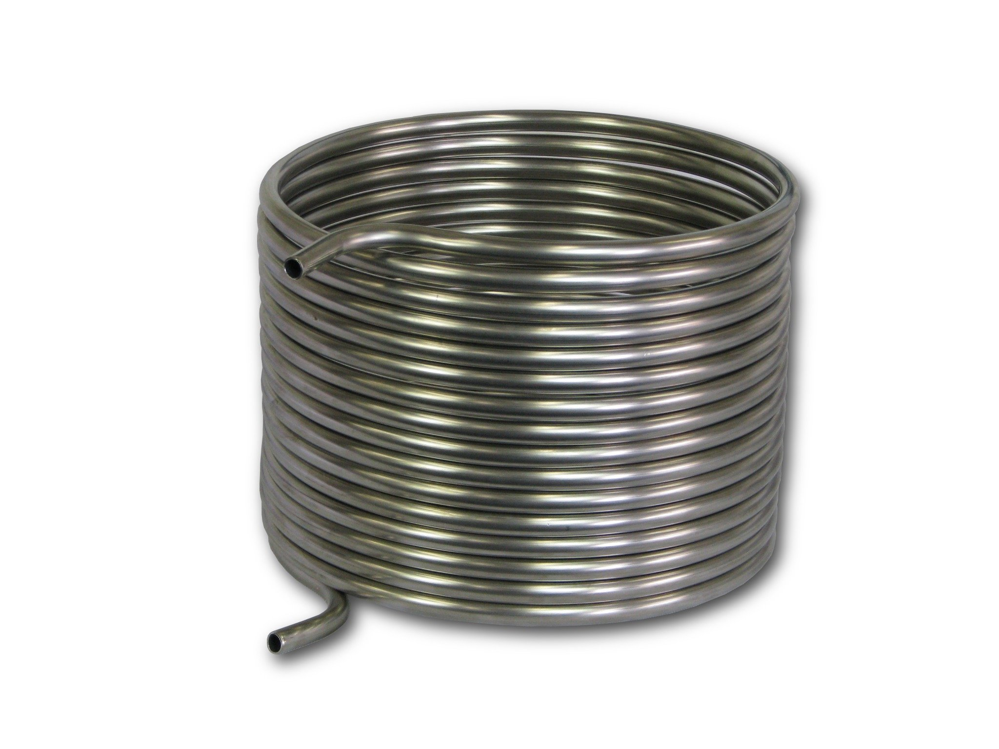 COLDBREAK 50' HERMS Coil, 1/2'' Stainless Steel, 12'' Diameter, Step Mash 10-20 Gallon Batches