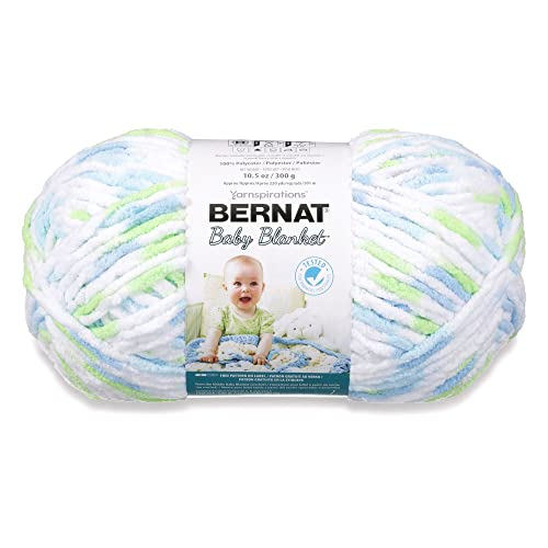 Bernat Baby Blanket Big Ball Funny Prints