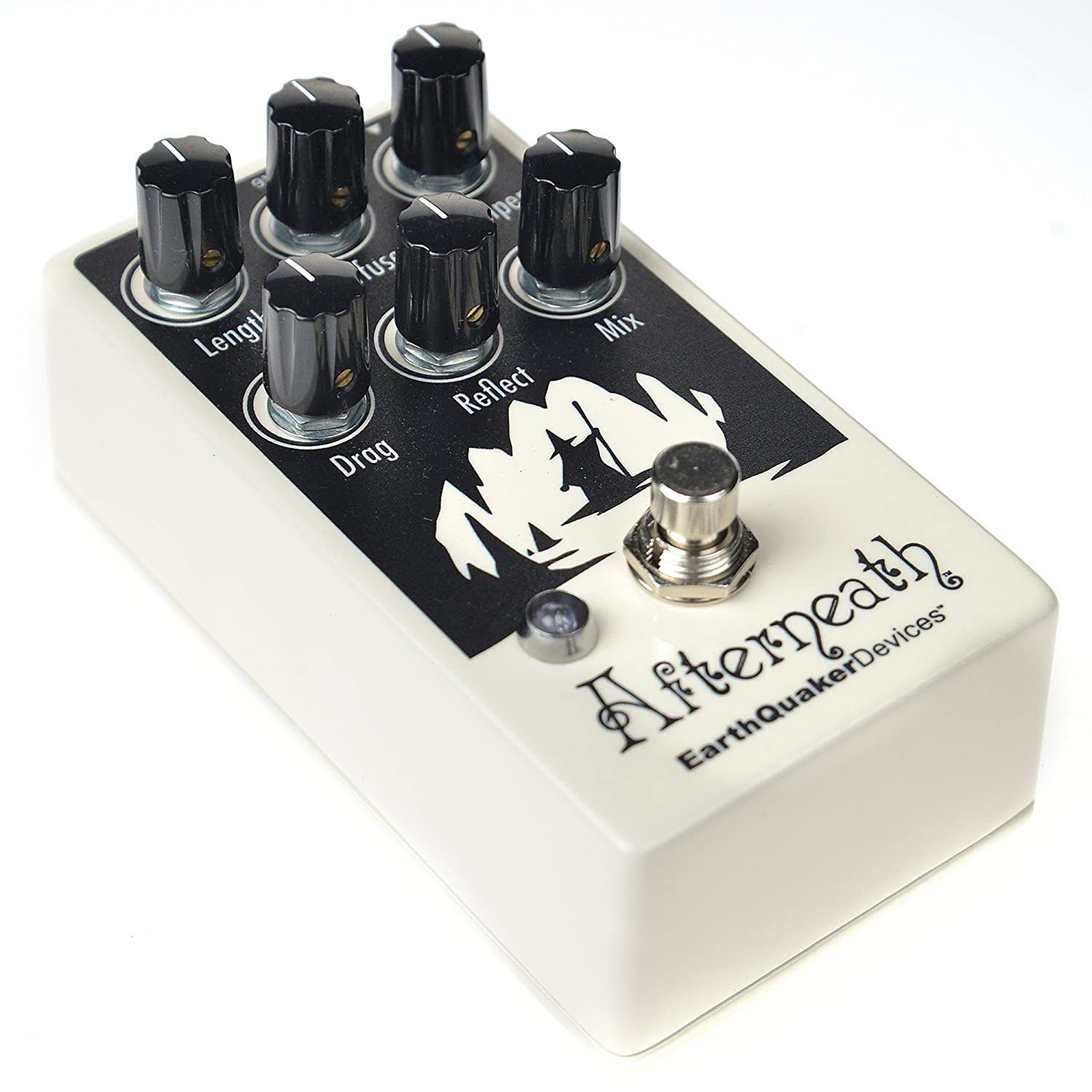 Amazon.com: Earthquaker Devices Afterneath Pedal Invert Glow-in-the-Dark v2: Musical Instruments