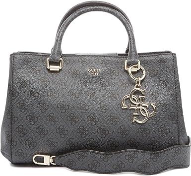 Guess Sac à Main Joleen Motif Logo Femme HWSG6857070 Noir