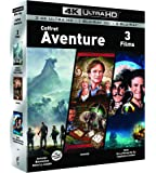 COFFRET AVENTURE 4K UHD - Jumanji / Jumanji : Bienvenue dans la jungle/ Hook - Exclusif Amazon