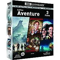 COFFRET AVENTURE 4K UHD - Jumanji / Jumanji : Bienvenue dans la jungle/ Hook - Exclusif Amazon [Blu-ray]