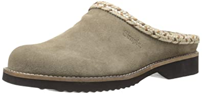 Simple Women's Hallie Mule, Taupe Suede, ...