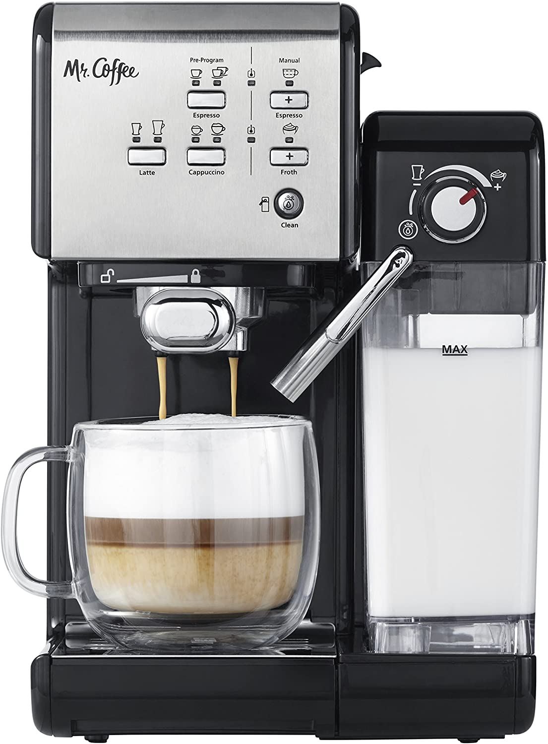 Mr. Coffee One-Touch Coffee House Espresso Machine Amazon