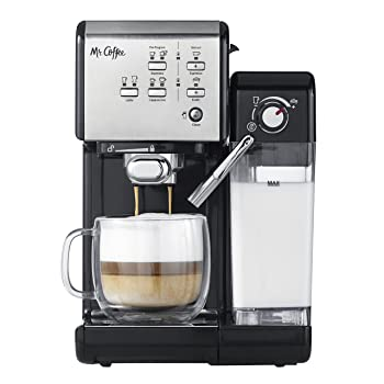 Mr. Coffee One-Touch Espresso and Cappuccino Maker