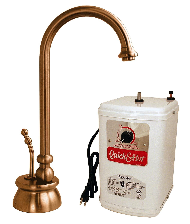 Westbrass D261H-11 Calorah Hot Water Dispenser Kit - Antique Copper