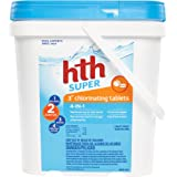 """hth Pool Sanitizer 3"""" Chlorinating Tables 4-in-1 (42009)"""