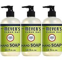 Mrs. Meyer's Clean Day Liquid Hand Soap, Lemon Verbena Scent, 12.5 Fl Oz, Pack of 3