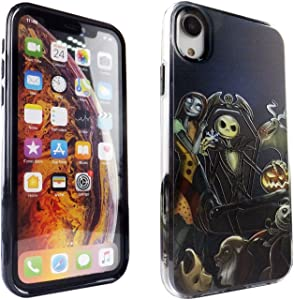 iPhone XR CASEMPIRE Nightmare Before Christmas Hybrid Case Shock Proof Never Fade Slim Fit Cover for IP XR Nightmare