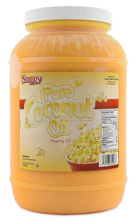 Snappy Popcorn Colored Coconut Oil