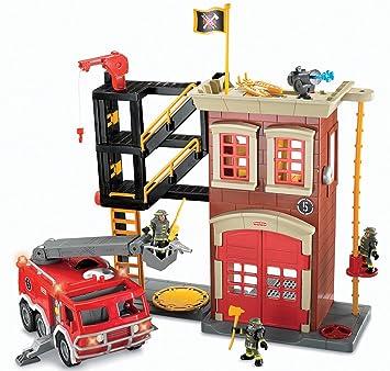 Fisher-Price Imaginext Firestation & Fire Engine