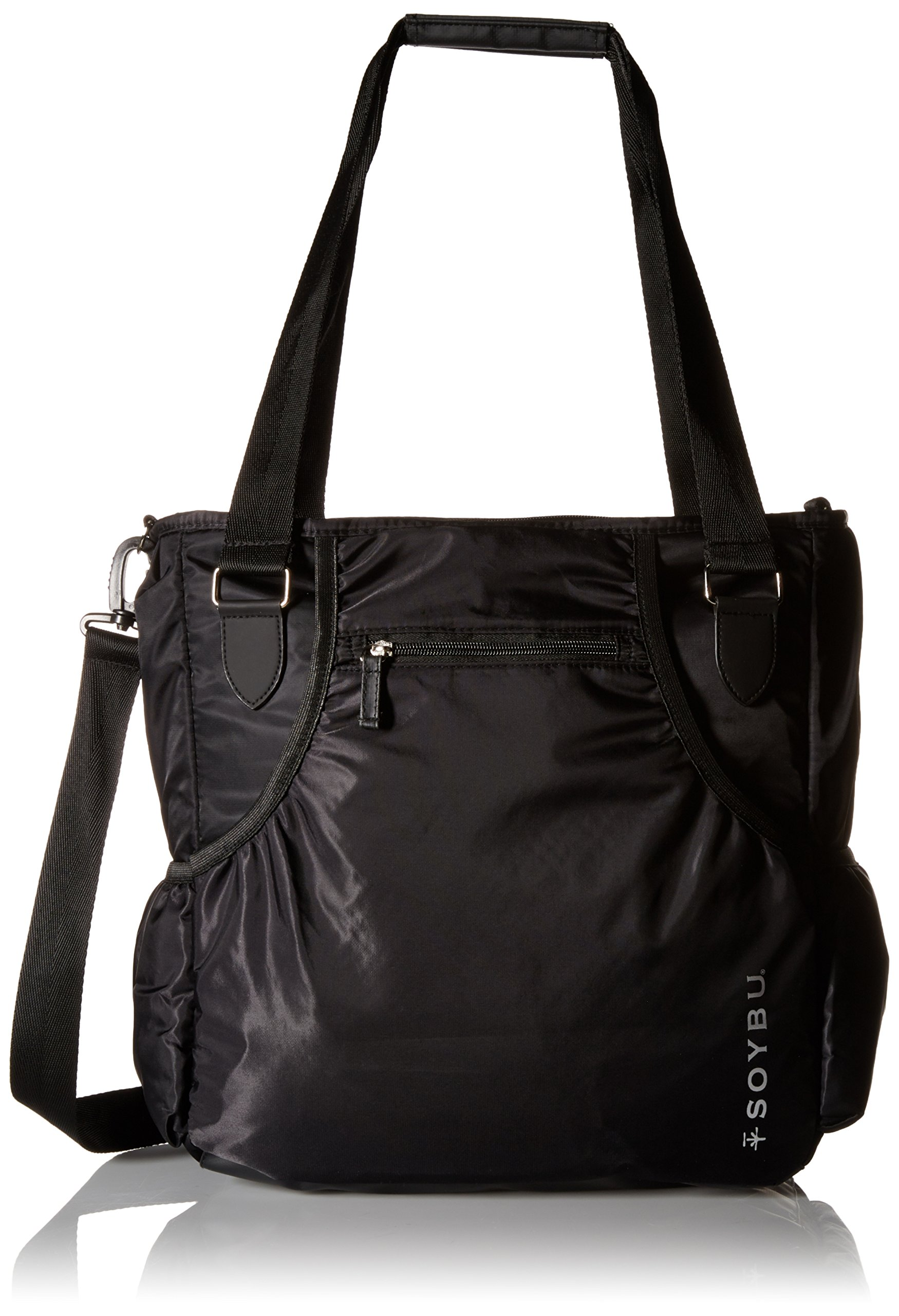 Soybu SY1323 Women's Moksha Tote Bag, Black, One Size