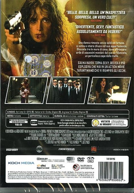 everly DVD Italian Import: Amazon co uk: salma hayek, jennifer blanc