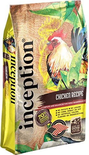 Inception Dog Food Chicken 4lb