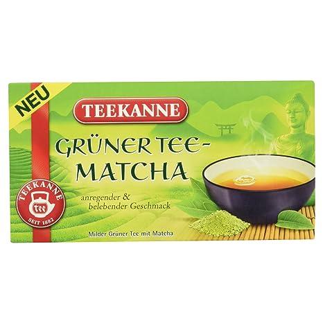Teekanne Grüner Tee Matcha 20 Beutel 35g Amazonde Lebensmittel