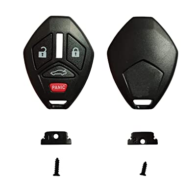 3+1 Buttons Replacement for Key Fob Shell Keyless Entry Remote Mitsubishi Key Case with Screwdriver Fit for Mitsubishi Eclipse Galant Lancer Outlander: Car Electronics