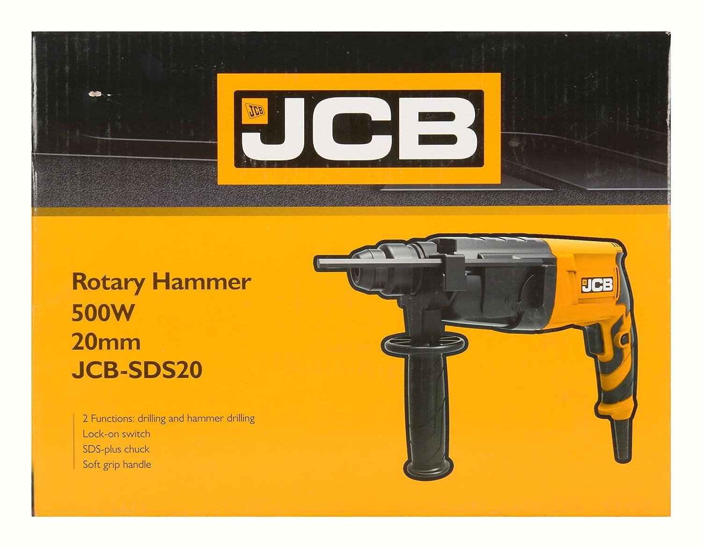 Jcb 20mm Rotary Hammer Drill 500w Rotative Speed Regulator Borer Driller Controller