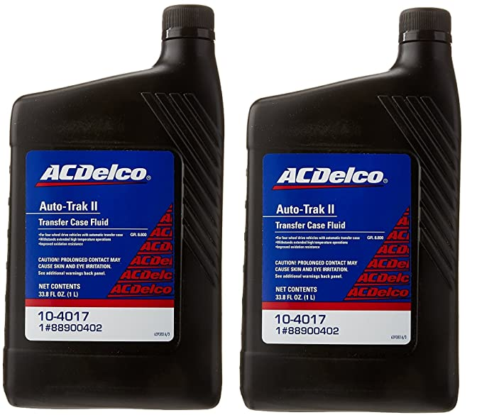 Amazon com: ACDelco 10-4017 Auto-Trak II Transfer Case Fluid