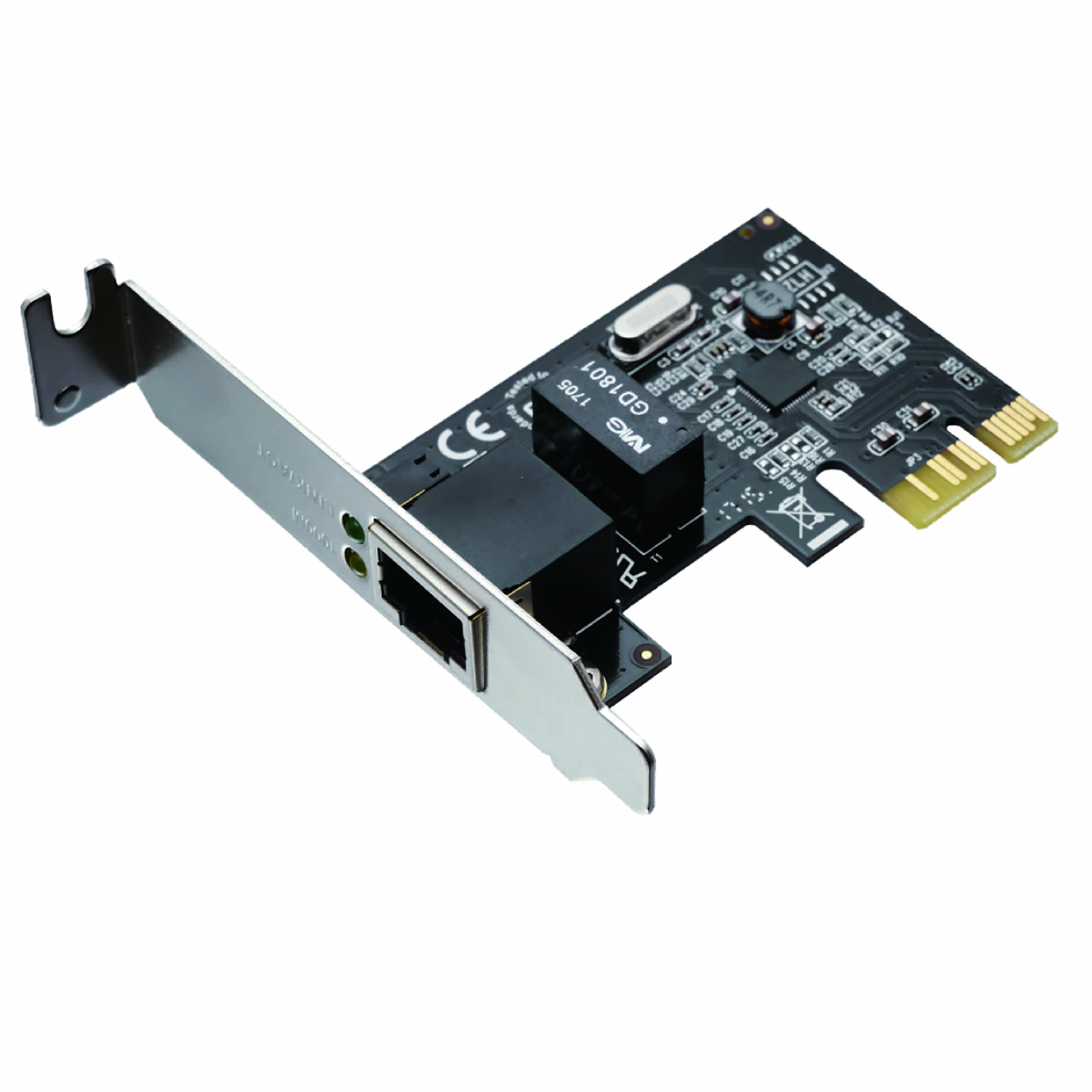 Airier SD-PEGLAN-1L Gino III The PCI Express x 1 Connection Gigabit LAN Expansion Low Profile Support by Airier (Image #8)
