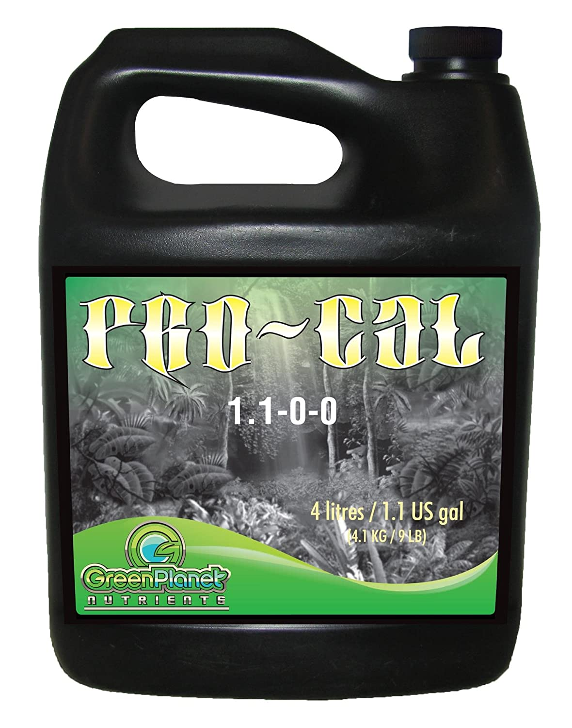 Green Planet Nutrients - PRO-CAL (10 Liters) | Highly Beneficial Calcium, Magnesium and Iron Plant Nutrient Supplement - More Concentrated Than Competitive ...