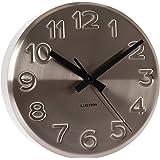 Karlsson KA5477ST Horloge Bold Engraved Numbers Mural