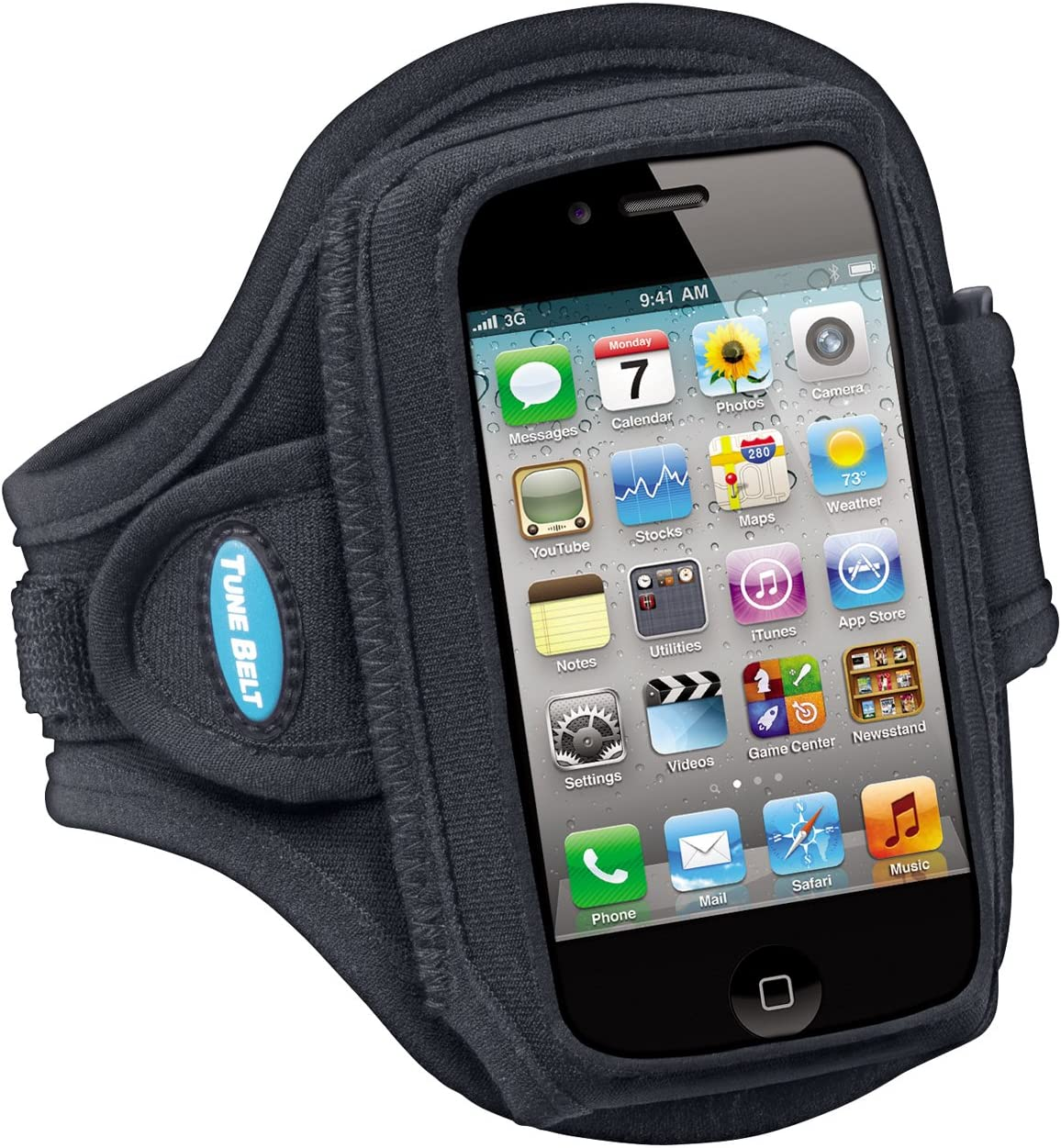 Tune Belt Armband for iPhone 4 4S 3G 3GS, iPod Classic (All gens) and iPod Touch (First – Fourth Generation)