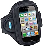 Armband for iPhone 4, 4S, 3G, 3GS; Also fits for iPod classic (all gens) and iPod touch (first – fourth generation)