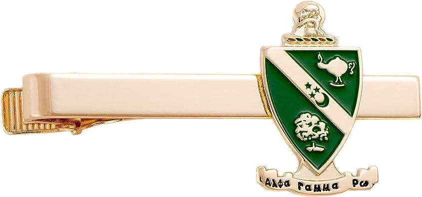 Alpha Gamma Rho AGR Fraternity Gold Color Letter Tie Bar//Clip AGR