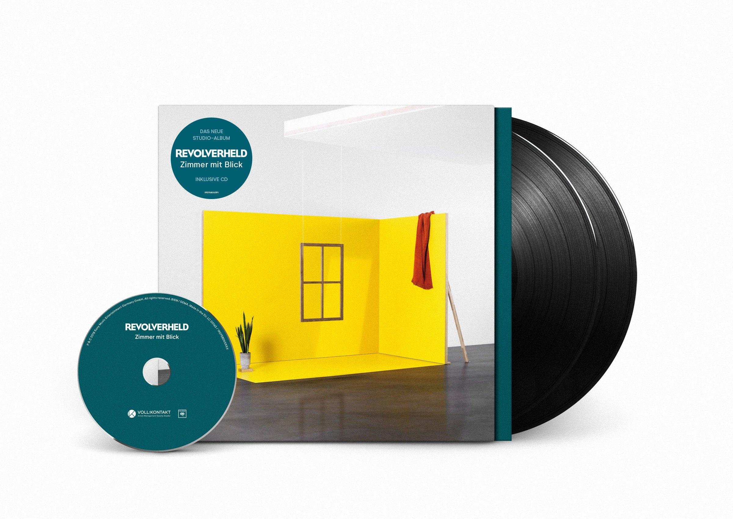 Vinilo : Revolverheld - Zimmer Mit Blick (With CD, Germany - Import, 3PC)