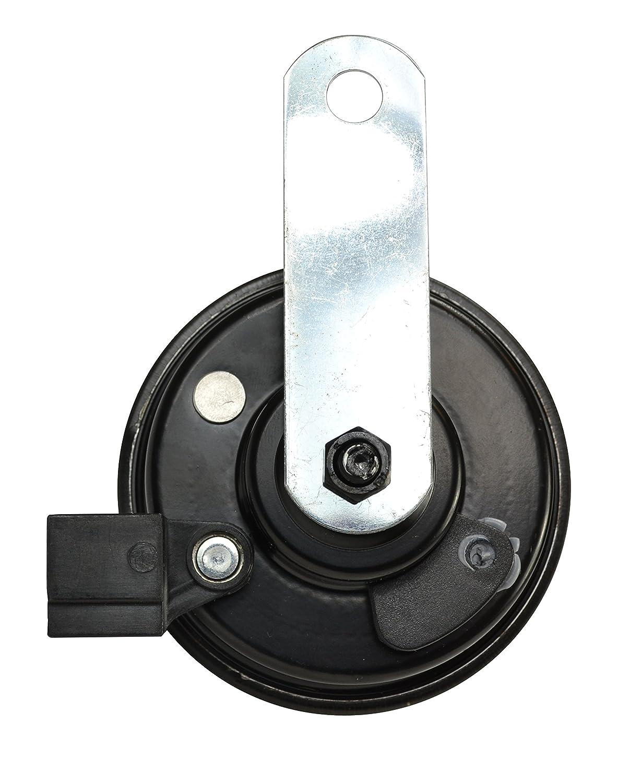 Honda HELLA 011225891 Black 77mm 12V BX Disc Horn Kit