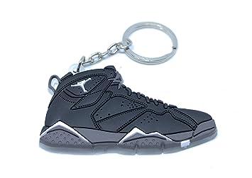 Air Jordan Retro 7 mini-shoe Llavero: Amazon.es: Oficina y ...