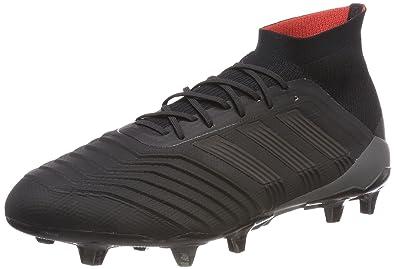 low priced 8d443 eab12 adidas Herren Predator 18.1 Fg Fußballschuhe Schwarz Core Black Real Coral,  40 2