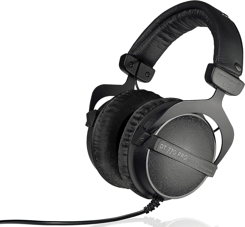 beyerdynamic DT 770 PRO - 250 OHM LE DT 770 Pro 250 ohm Professional Studio Headphones (Limited Black Edition)