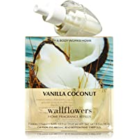 Bath & Body Works Vanilla Coconut Wallflowers Home Fragrance Refills, 2-Pack (1.6 fl oz total)