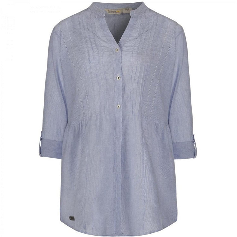 Regatta - Blusa con Botones Modelo Madison para Mujer (42/Blanco): Amazon.es: Ropa y accesorios